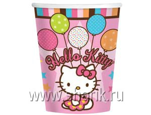 Стакан Hello Kitty 8шт/А 1502-0932